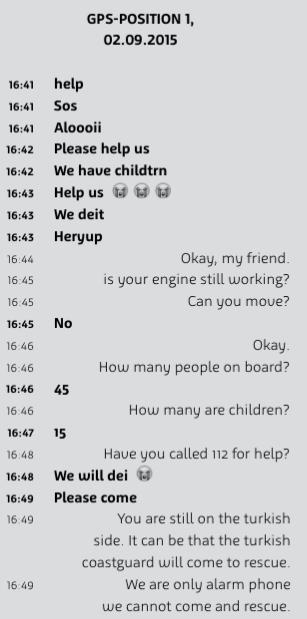 alarmphone dialog