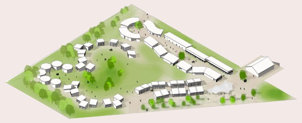 Hitzacker Dorf Bauplan